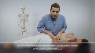 Obejrzyj On-line: Przewlekłe bóle lędźwiowe - to może być proste!