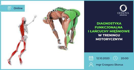 On-line:Diagnostyka funkcjonalna i łańcuchy mięśniowe w treningu