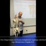 Obejrzyj 26.10   On-line: Diagnostyka różnicowa dolegliwości szyjnego odcinka kręgosłupa
