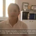 Obejrzyj 30.11 On-line: Terapia manualna w chorobach układu oddechowego (w tym COVID-19)