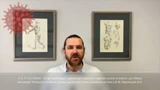Obejrzyj 7, 9,11.12 kurs on-line |COVID 19. Praktyczne studium pomocy pacjentom