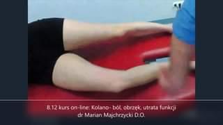 Obejrzyj 8.12 kurs on-line: Kolano- ból, obrzęk, utrata funkcji